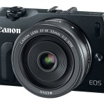 Canon-EosM mirrorless camera
