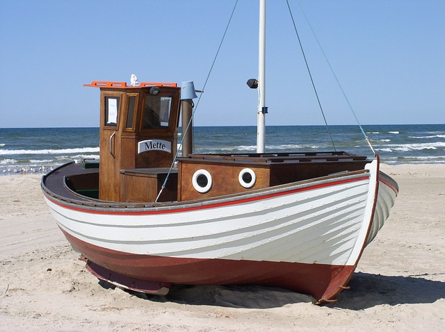 Quality of Light - Fishing Boat on the Beach