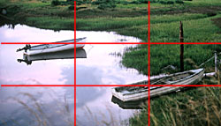Photo Composition Rule of Thirds