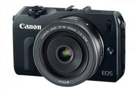 Canon-EosM mirrorless camera